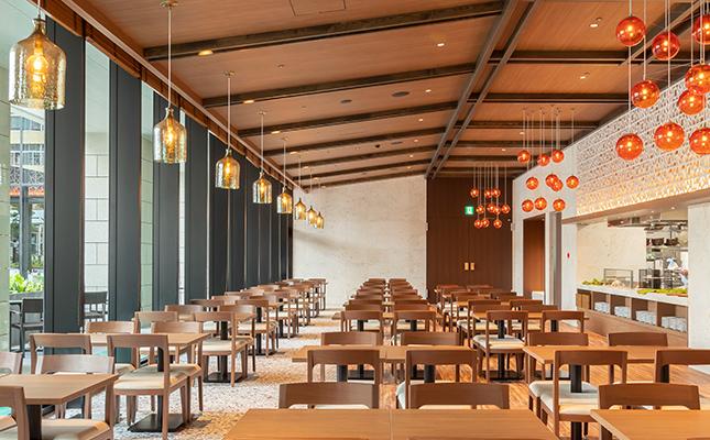 レストラン(1階)