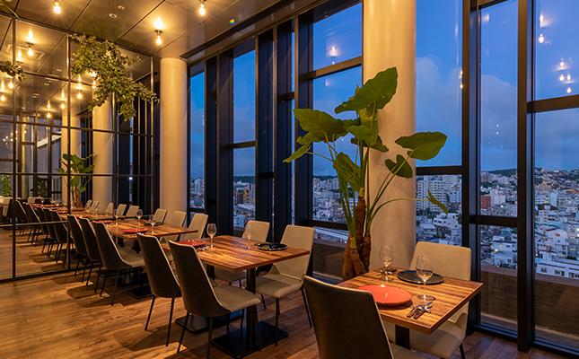 レストラン(13階)