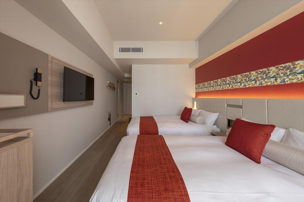 ヒューイットリゾート那覇 客室 ツイン 高層階