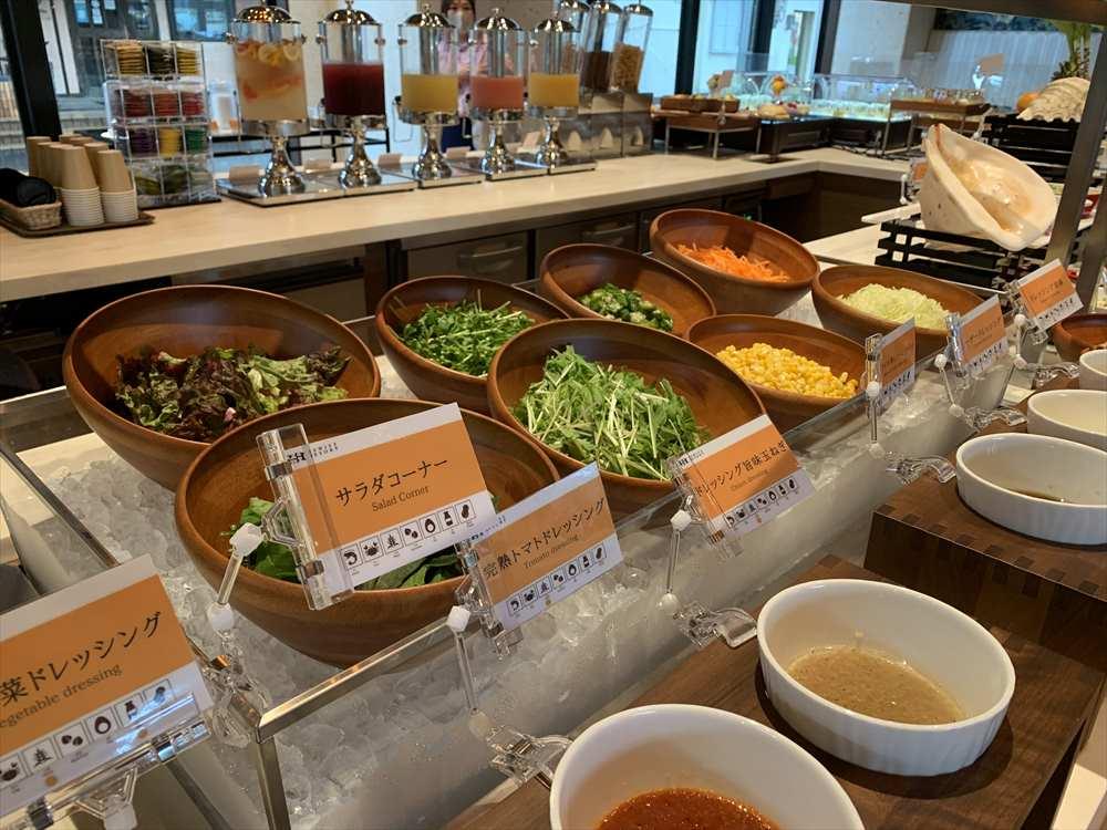 ヒューイットリゾート那覇 ホテル 朝食