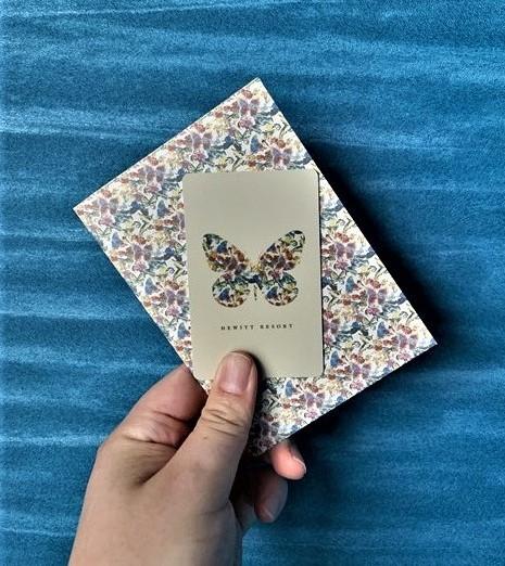ヒューイットリゾート那覇 ホテル おしゃれ  ルームカード カードケース